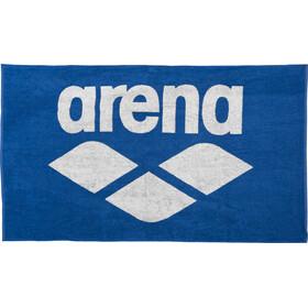 arena Pool Soft Asciugamano, blu/bianco